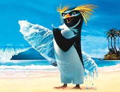 Surf's Up!  Penguins are awesome dude!  So's the movie after the 20th time.