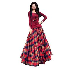 We are provides you Lehenga Choli which is a traditional Indian wear also known as Chaniya Choli or Ghagra Choli for Women. This lehenga bear a sophisticate Anarkali Lehenga, Silk Lehenga, Ghagra Choli, Long Skirt And Top, Girl Fashion, Womens Fashion, Ladies Fashion, Western Dresses, Embroidered Silk