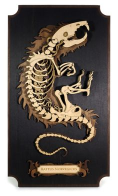 Laser-Cut Wooden Sculptures by Martin Tomsky