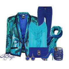50 Shades of Blue Contest, created by kginger on Polyvore
