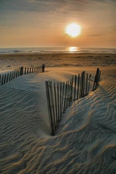 ✮ The sun rises over Hatteras Island in the Outer Banks of North Carolina