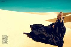 Editorial: Marcelina Sowa by Kevin Sinclair for Grazia UK June 2012 Foto Fashion, Fashion Shoot, Editorial Fashion, High Fashion, Dark Fashion, Fashion Poses, Desert Fashion, Autumn Fashion, Editorial Photography
