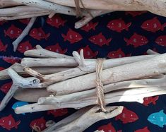 Your place to buy and sell all things handmade Buy Driftwood, Driftwood Beach, Beach Wood, Wood Supply, Sea Glass Crafts, Black Sea, Candlesticks, Garland, Picture Frames
