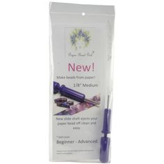 Paper Bead Girl Bead Roller Pro With Slide Shaft Purple