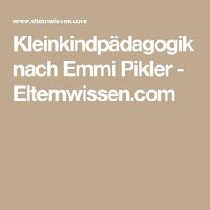 Kleinkindpädagogik nach Emmi Pikler - Elternwissen.com