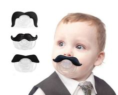 Brand New and High Quality of Baby's Pacifier. Color: Black Material: Silicone Suit For: More Than 3 Months Package Included: of Baby Mustache, Moustache, Best Deals Online, Cute Babies, Chill, Infant, Pacifiers, Children, Baby