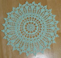 Easy Crochet Doily For Beginners The Pattern Is Very