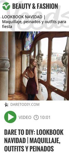 Dare to DIY: LOOKBOOK NAVIDAD | Maquillaje, outfits y peinados | http://veeds.com/i/k8x28v9H_W9AnvNC/beauty/