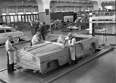 Ford in 1950 (building prototypes) PROTOTYPES are on my mind love the universe
