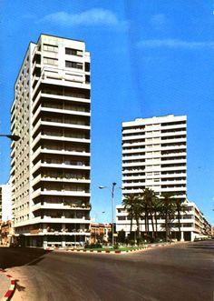 Plaza de El Punto Años 70.