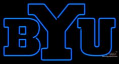 Brigham Young Cougars Alternate   Logo NCAA Real Neon Glass Tube Neon Sign,Affordable and durable,Made in USA,if you want to get it ,please click the visit button or go to my website,you can get everything neon from us. based in CA USA, free shipping and 1 year warranty , 24/7 service