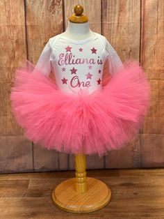 NEW Valentines Day Baby Girl You are so loved Bodysuit Gold Tutu Skirt Outfit
