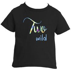 Girl's Two Wild T-Shirt