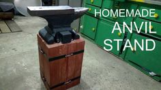 Homemade Anvil Stand/Podstawa pod kowadło