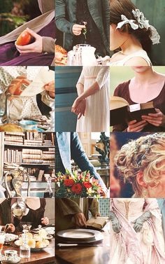 """During filming, his attention to detail is meticulous, obsessive even, down to the paper that covers the set walls or the clip that glints in the leading lady's hair. """"I like the minutiae, the actual details of everyday life. I think that the detail is in the small things, like crumbs on a table, or flowers in a vase."""" (Joe Wright, Director)"""