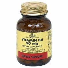 Solgar Vitamin B6 50 mg Tablets - 100 tablets: Amazon.co.uk: Health & Personal Care.. gr8 for 1st trimester sickness releif