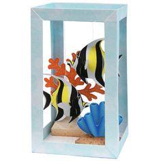 Paper Aquarium : Moorish idol - Toys - Paper Craft - Canon CREATIVE PARK