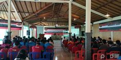 FKPT bersama KNPI Sebar Benih Damai Tangkal Terorisme Bali, Basketball Court, Peace, Room