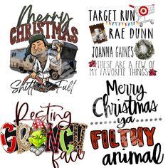 Christmas Sublimation Transfer Sheets Sublimation Blanks, Cricut Craft, Christmas, Xmas, Navidad, Noel, Natal, Kerst