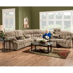 Another Set of Reclining Sectionals from Franklin 2015