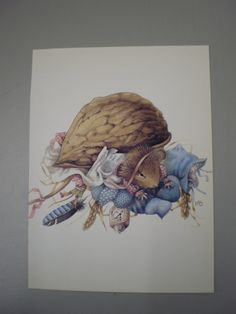 Vera the Mouse  Marjolein Bastin    vintage door simplyproducts, $5.00