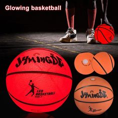 This LED basketball is amazing! Perfect and unique gift: Glowing city LED light basketball is a perfect gift for all ages. entire basketball with brilliant red light. This ball looks, feels and plays like a normal basketball. Basketball Party, Basketball Shooting, Basketball Players, Basketball Room, Basketball Goals, Things That Bounce, Cool Things To Buy, Stuff To Buy, Sketching Techniques
