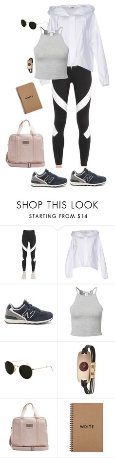 """Work it and make them jealous. Oh and don't forget to smile"" by youngsmile on Polyvore featuring NIKE, Jil Sander, New Balance, Estradeur, Ray-Ban, Calvin Klein, adidas and Brika"