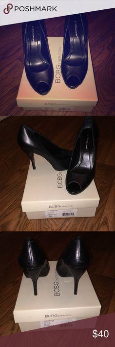 BCBGeneration Black New Calf. BCBGeneration Shoes Heels