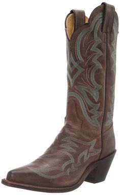 Justin Boots Women's Bent Rail Pointed Toe Boot *** Quickly view this special boots, click the image : Women's cowboy boots