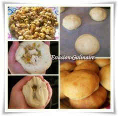 www.evasion-culinaire.com petits-pains-farcis-buns-au-poulet