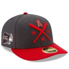 online retailer 19c74 2f9f2 Men s Los Angeles Angels New Era Graphite Red 2019 MLB All-Star Workout On