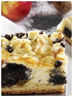 Eine gelungene Kombination: Mohn-Käsekuchen | http://eatsmarter.de/rezepte/mohn-kaesekuchen
