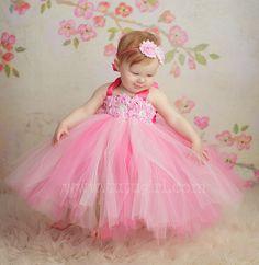 Pink Tutu Dress | Flower Girl Tutu Dresses