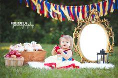 snow white smash cake - Pesquisa Google