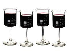 Beaker Wine Glasses