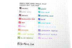 Marvy 4300 LePen Porous Point Marker Pen - Fine Point - Amethyst Purple - MARVY 43760