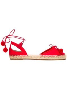Shop Aquazzura 'Palm Beach' espadrilles in Tiziana Fausti from the world's best independent boutiques at farfetch.com. Shop 400 boutiques at one address.