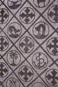 Ostia Antica, FußbodenmosaikRömisch, Ostia Antica.