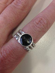 Black pandora - goes with everything - love love love my black ring