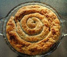 Spanakopita-spiral-whole Beet Recipes, Baby Spinach, Spanakopita, Feta, Spiral, Tasty, Desserts, Beetroot Recipes, Postres