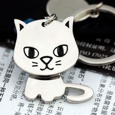 35b04c1ad 27 Best Cat Keychains images in 2017   Cat keychain, Jewelry sets ...