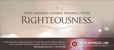Schlapprizzi Law Firm Catholic Personal Injury Firm catholicinjurylaw.com  Righteousness