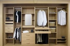 closets wood and white - Google Search