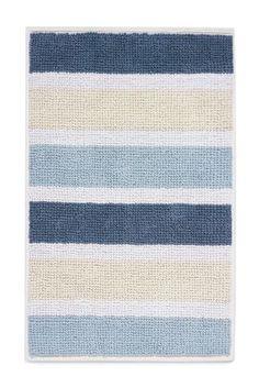 ישראל :Next - קנה שטיחון אמבטיה עם פסים כחולים באינטרנט היום ב