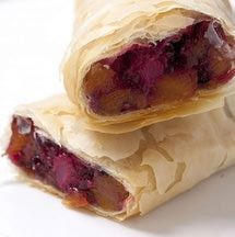 This easy fruit strudel recipe is kosher, vegan, nut-free and parve.