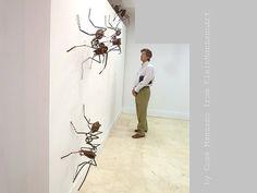 Metal sculpture Ants Wall sculpture Metal art by KleinManzanoArt