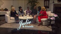 Join the ladies of Julie & Friends & guests Ricky and Victoria Walker Monday 4/18/16 for a conversation about salvation and Ricky's path to the Lord. Check listings at www.tct.tv