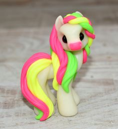 Genuine and original polymer clay sculpture designed and handmade with love by Elisabete Santos Polymer Clay Sculptures, Polymer Clay Animals, Cute Polymer Clay, Cute Clay, Polymer Clay Creations, Handmade Polymer Clay, Handmade Art, Eevee Cute, Cute Ponies