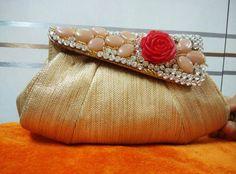 Elegant Rose Jewellery Clutch