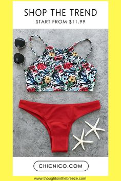 Fashionable swimsuits for summer and spring break. Trendy selections of stylish swimwear online. There are sexy, cute, boho, tribal, casual bathing suits with different prints in solid color, bikini's, tanks, tankini's, one piece. Search for a bikini, one piece or tankini. Suits for those who are modest, curvy, sporty,  moms, or teens, they have flattering swimsuits for any body shape. #bikini, #swimsuits, #tankini, #onepiece, #summerfun, #affiliate, #summerfashion, #fashion, #springbreak